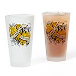 Neuroblastoma Survivor Drinking Glass