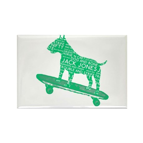 Vintage Lonon Slang Skateboarding Bull Terrier Rec