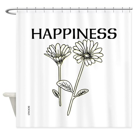 OYOOS Happiness design Shower Curtain