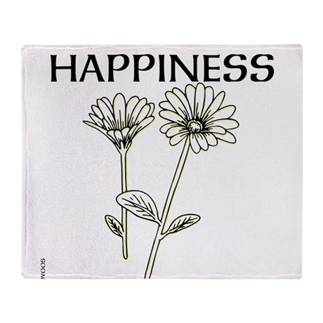 OYOOS Happiness design Throw Blanket