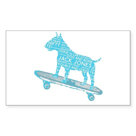 Vintage London Slang Skateboarding Bull Terrier St