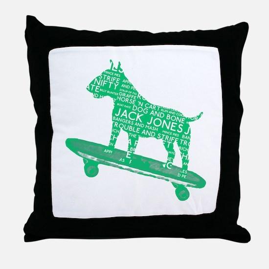 Vintage London Slang Skateboarding Bull Terrier Th