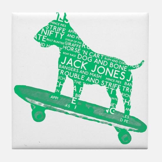 Vintage London Slang Skateboarding Bull Terrier Ti