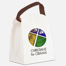 Christians for Obama Canvas Lunch Bag