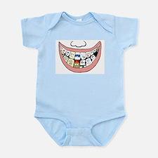 Behind a smile Infant Bodysuit