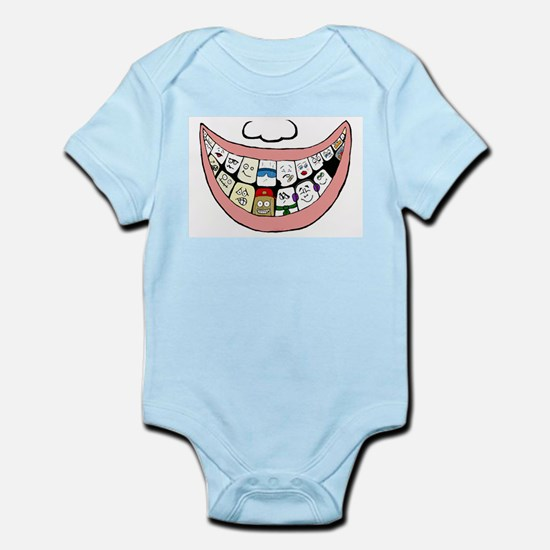 Behind a smile Infant Bodysuit
