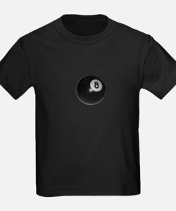 Vintage Pool Eight Ball T
