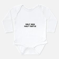 Cute Animal activist Long Sleeve Infant Bodysuit
