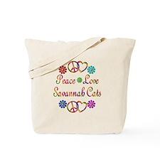 Savannah Cats Tote Bag