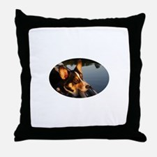Eyes of a Star Throw Pillow