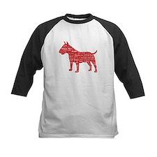 Vintage London Slang Bull Terrier Red Tee
