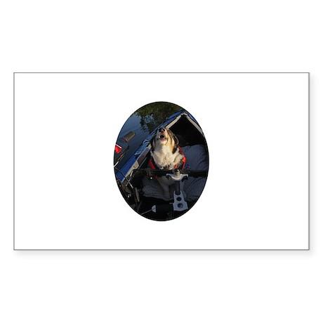 Full Stop! Sticker (Rectangle)