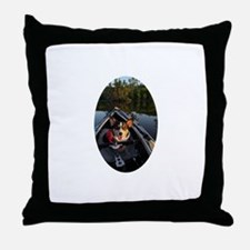 Welcome Aboard! Throw Pillow