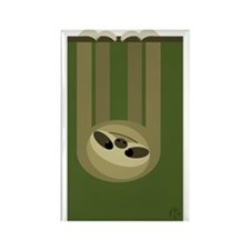 Sloth Rectangle Magnet