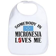 Somebody In Micronesia Bib