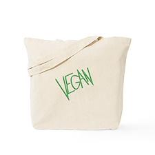 Green Vegan Tote Bag