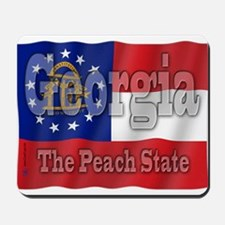 Georgia The Peach State Mousepad
