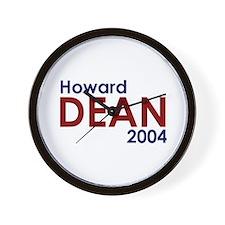 Unique Howard dean Wall Clock