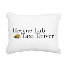 Rescue Lab Taxi Rectangular Canvas Pillow