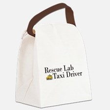 Rescue Lab Taxi Canvas Lunch Bag