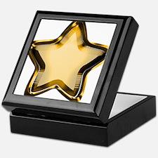 Gold Star Keepsake Box