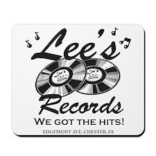 Lees Records Mousepad