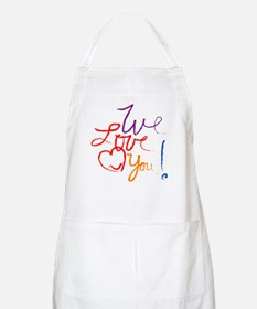 We Love You Apron