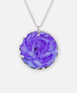 Wendy Purple Rose Necklace