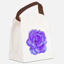 Wendy Purple Rose Canvas Lunch Bag