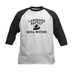 Wicca Busters Kids Baseball Jersey