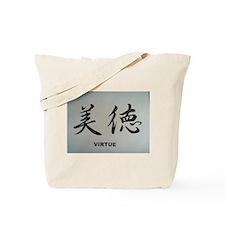 Japanese Kanji Phrase Tote Bag