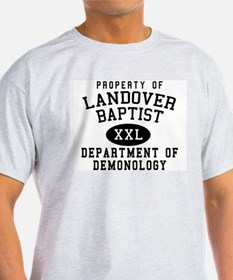 Demonology Dept. Ash Grey T-Shirt