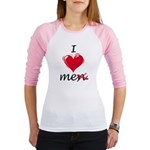 I Love Me (Men) Jr. Raglan