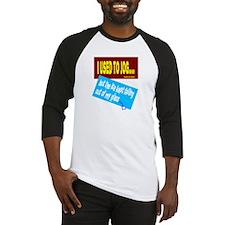 I Used To Jog-David Lee Roth/t-shirt Baseball Jers