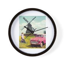 Cute Alexander Wall Clock