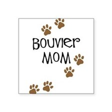 """bouvier mom.png Square Sticker 3"""" x 3"""""""