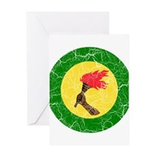 Zaire Roundel Greeting Card