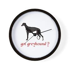 GOT GREYHOUND Wall Clock