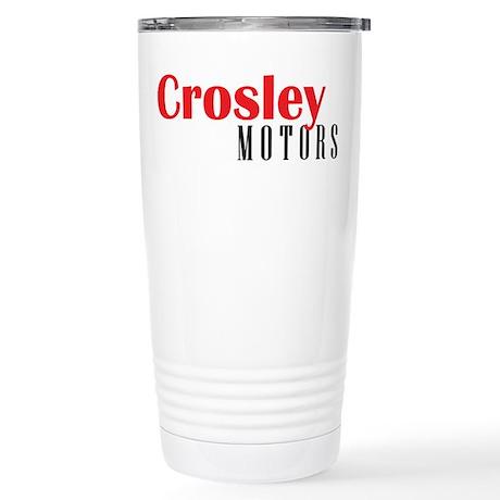 Crosley Motors Stainless Steel Travel Mug