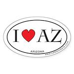 I Love Arizona Sticker