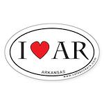 I Love Arkansas Sticker