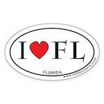 I Love Florida Sticker