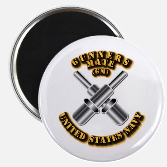 """Navy - Rate - GM 2.25"""" Magnet (10 pack)"""