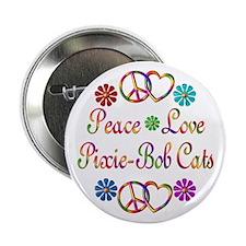 """Pixie-Bob Cats 2.25"""" Button"""