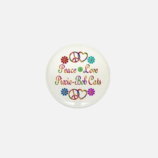 Pixie-Bob Cats Mini Button
