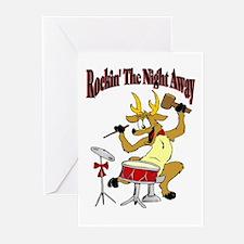Rockin Reindeer Greeting Cards (Pk of 10)