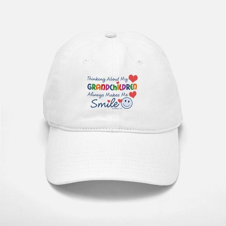 I Love My Grandchildren Baseball Baseball Cap