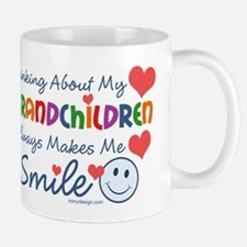 I Love My Grandchildren Mug
