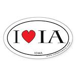 I Love Iowa Sticker