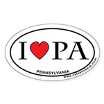 I Love Pennsylvania Sticker